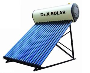 Integrated Pressurized 100liter - 300liter Heat Pipe Solar Water Heater pictures & photos