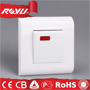 PC Material 32A Water Heater Wall Switch pictures & photos