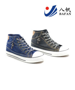 Men Fashion Casual Canvas Flat Running Travlling Shoes (bfm0368) pictures & photos