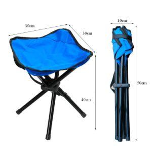 Aluminum Folding 4-Leg Stool pictures & photos