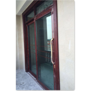 120 Series Alumnium Heavy Sliding Door From Customer Photo