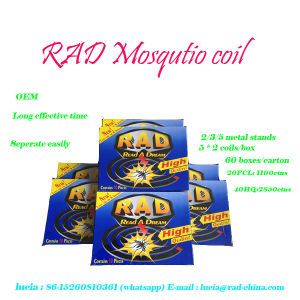 African Effective with Cheap Price Black Mosquito Coil