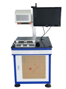 CO2 Laser Marking Machine for IC and Botlles Marking and Printing pictures & photos