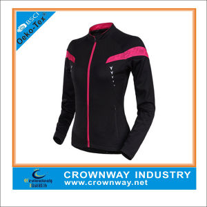 100% Polyster Lightweight Club Custom Cycling Jacket pictures & photos