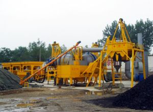 Qlby-60 / 60tph Mobile Asphalt Batching Plant pictures & photos