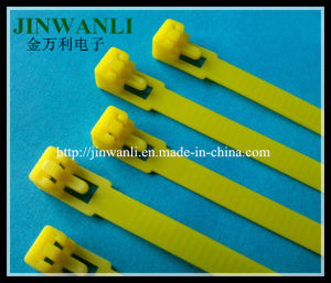7.6X300 Releasable Cable Ties with Nylon 66 Material pictures & photos