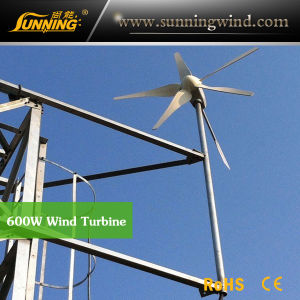 Residential Wind Generator 600W Small Wind Turbine Home Use pictures & photos