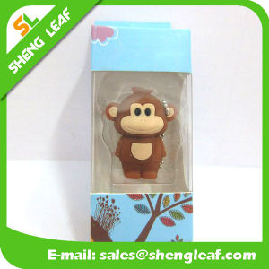 Hot Sale Rubber Customized Rubber USB Flash Drive (SLF-RU010) pictures & photos