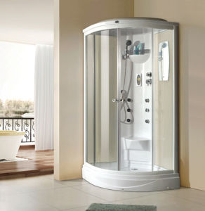 Sliding-Open Integrated Steam Shower Room pictures & photos