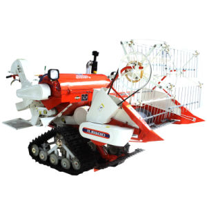 Gy4l-0.9A Mini Combine Harvester, for Harvesting Rice, Wheat, Barley, Oat etc
