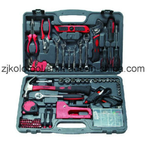90 PCS Multi Complete Hand Tool Kit with Glue Gun pictures & photos