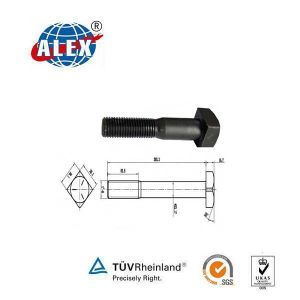 Heavy Square Head Track Bolt for Railroad