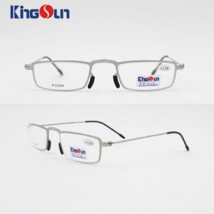 Steel Frame with Wire Temple Reading Glasses pictures & photos