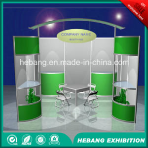 Hb-L00023 3X3 Aluminum Exhibition Booth pictures & photos