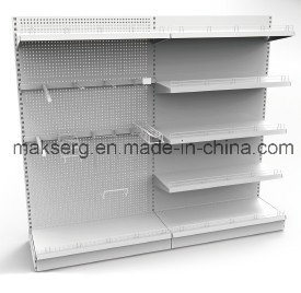 Metal Pegboard Display Shelf Powder Coated pictures & photos