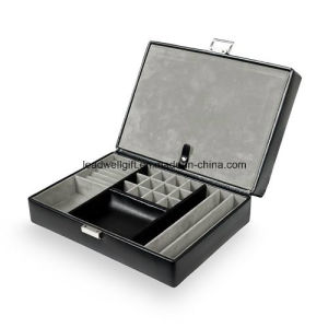 Travel Watch Storage Case & Valet Leather Jewelry Box pictures & photos
