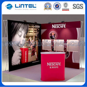 8ft Stretch Fabric Pop up Banner Stand (LT-09D) pictures & photos