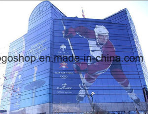 Outdoor Material Screen Printing One Way Vision (140mic film 140g release paper) pictures & photos