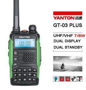 7/8watts Tri-Band 2 Way Radio (YANTON GT-03Plus)
