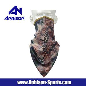 Anbison-Sports Python Camo Bandana Half Face Mask pictures & photos