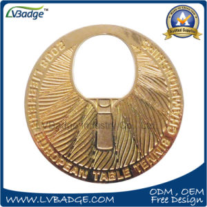 Customer Metal Coin with The Table Tennis Match pictures & photos