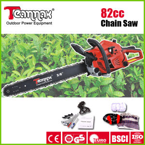 Teammax 82cc High Quality Professional Petrol Chain Saw pictures & photos