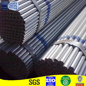 1 1/4 inch Round Pre galvanized Steel Tube for Structure pictures & photos