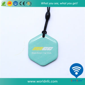 Promotional Gift T5577 Lf Epoxy RFID Smart Card pictures & photos