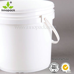 Food Grade 2L Plastic Bucket with Plastic Handle pictures & photos