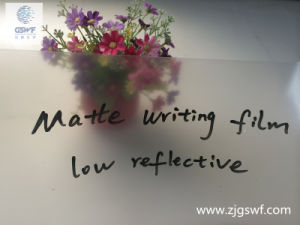 No Reflective Matte Projection Whiteboard Film (WF106) pictures & photos