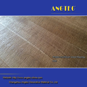 UV Oiled Natural White Oak Engineered Wood Flooring pictures & photos