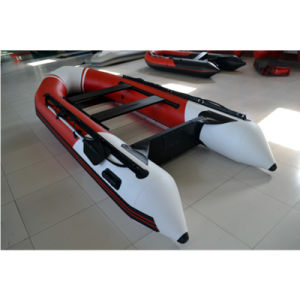 3.8m PVC Foldable Inflatable Boat with Motor pictures & photos