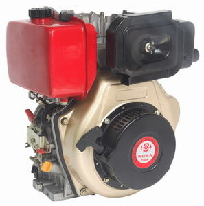 Recoin/Electric Start Single Cylinder 2 Stroke Diesel Engine