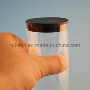 Clear Plastic Packing Tube with Caps pictures & photos