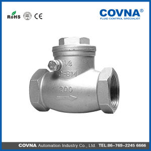 CF8m 316 Stainless Steel Swing Check Valve pictures & photos