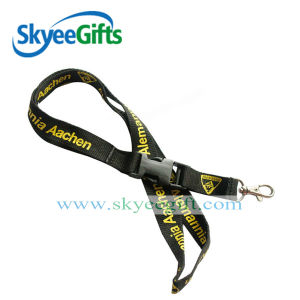 Manager Office Card Lanyards with Company Info and Website pictures & photos