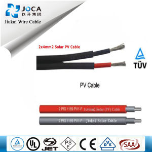 TUV Approved Electrical DC Solar PV Cable 6mm for Photovoltaic System pictures & photos