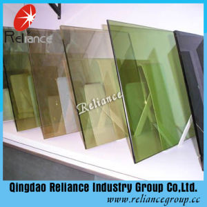 4mm/5mm/5.5mm Golden Bronze Reflective Glass/Tinted Glass for Building pictures & photos