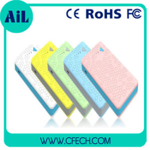 Colorful 8000mAh Power Bank /Mobile Battery Charger Made in China High Quality Cheapest