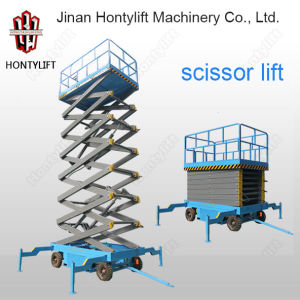 Ce Movable Hydraulic Working Platform Scissor Lift pictures & photos
