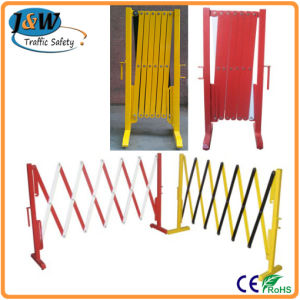 Temporary Portable Extensible Plastic Crowd Control Barrier pictures & photos
