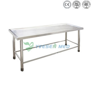 Medical Mortuary Toom Stainless Steel Morgue Table pictures & photos