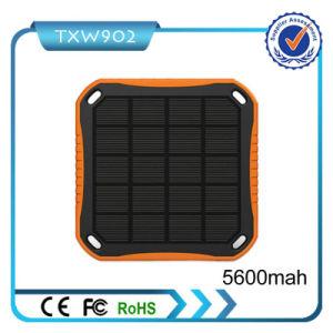 2016 New Model High Capacity Portable Solar Power Bank 5600mAh Solar Charger