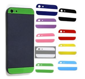 Colorful Bottom Glass Lens for iPhone 5 5s pictures & photos