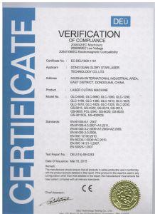 Glorystar 1000W Ipg/Rofin Fiber Laser Source Laser Cutting Machine pictures & photos