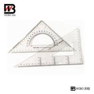 Office Stationery Triangle School Plastic Ruler