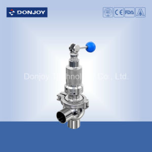 Sanitary Safety Valve Over Flow Valve Stainless Steel pictures & photos