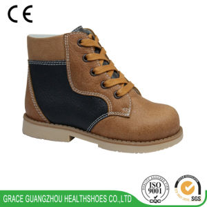 Grace Ortho New Style Children Orthopedic Shoes pictures & photos