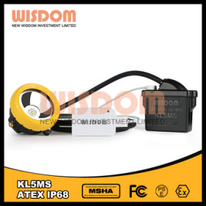 Wisdom Rechargeable Mining Cap Lamp, Miner′s Headlamp Kl5ms pictures & photos