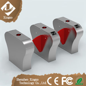 Railway Flap Gate Barrier Access Control Electronic Turnstile pictures & photos